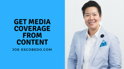 Get media coverage from content