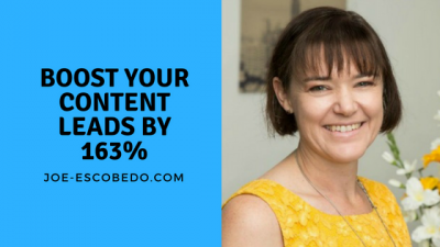 increase content marketing leads