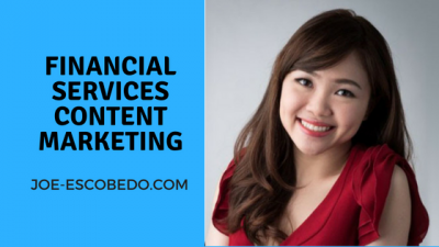 Financial services content marketing